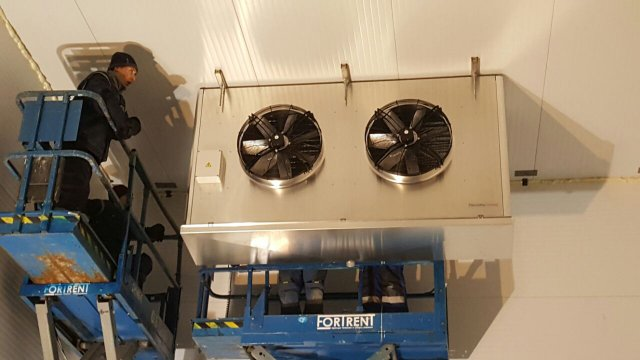 Низкотемпературный склад для компании «Морской пирс»
