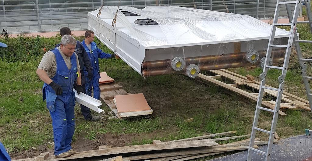 Поставка оборудования для склада-холодильника в Звенигороде