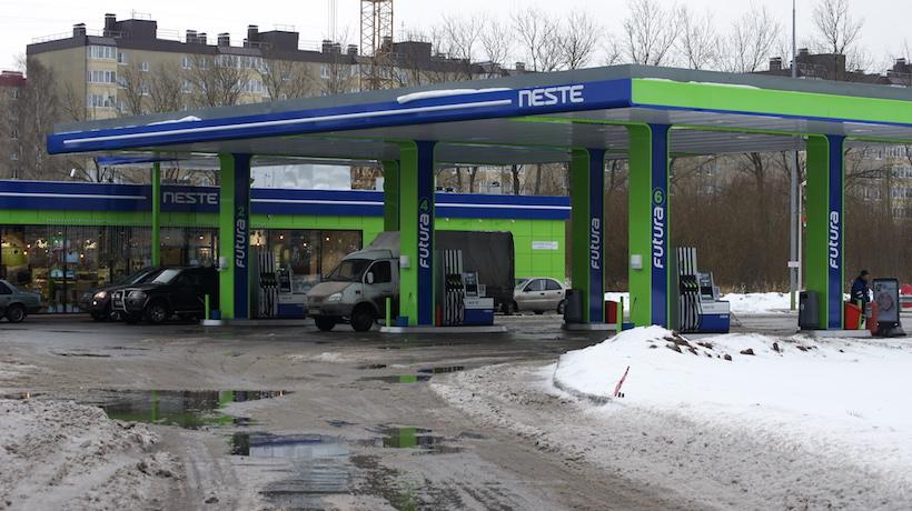 АЗС Neste на Колпинском шоссе