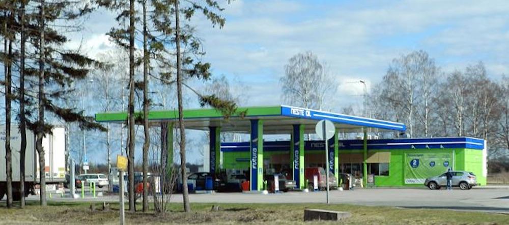 2018 - Neste (Выборгское шоссе)